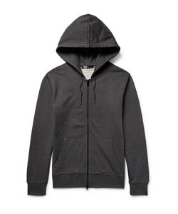 Y-3 | Printed Loopback Cotton-Jersey Zip-Up Hoodie