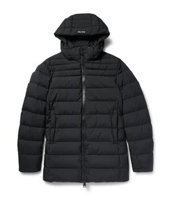 Herno Laminar | Hooded Gore Windstopperreg Down Jacket