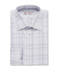 Turnbull & Asser | Slim-Fit Checked Cotton Shirt