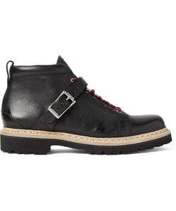 Heschung | Richmond Buckled Full-Grain Leather Boots