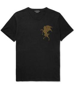 Alexander McQueen | Printed Cotton-Jersey T-Shirt