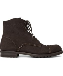 Harrys Of London   Lace-Up Suede Boots