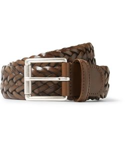 ANDERSON'S | 3.5cm Woven Leather Belt