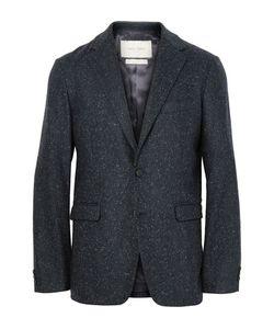 CASELY-HAYFORD | Blue Titus Slim-Fit Unstructured Slub Wool-Blend Suit Jacket