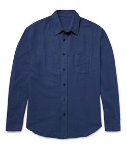 The Elder Statesman | The Elder Statesan Brushed-Cotton Flannel Shirt