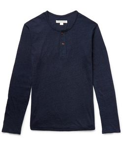 OUTERKNOWN | Depthdyed Lub Cotton Henley T-Hirt