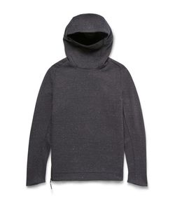 Nike | Funnel-Neck Cotton-Blend Tech Fleece Hoodie