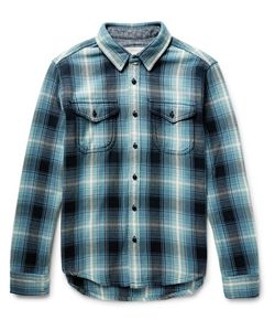 OUTERKNOWN | Checked Organic Cotton-Flannel Hirt