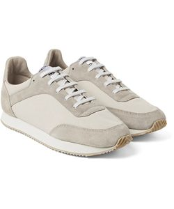 SPALWART | Tempo Suede And Canvas Sneakers