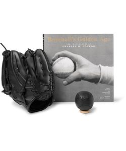 SHINOLA | Baseballs Golden Age Hardcover Book Nokona Mitt And Ball