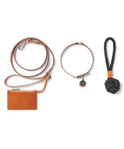 SHINOLA | Grosgrain-Trimmed Leather Dog Leash Collar And Toy Set