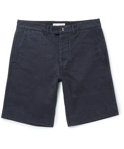 Officine Generale | Fisherman Cotton-Twill Shorts