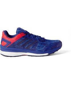 Adidas Sport | Supernova Sequence 9 Rubber-Trimmed Mesh Sneakers Cobalt