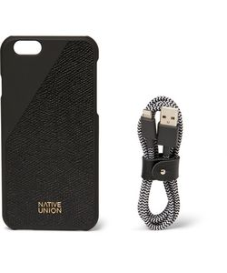 Native Union | Edition Clic Leather Iphone 6 Case And Usb