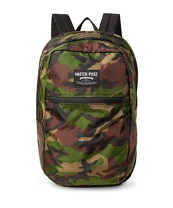 Master Piece | Pop N Pack Water-Resistant Nylon-Ripstop Backpack