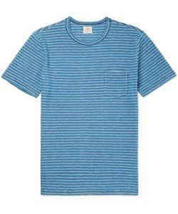 Faherty | Slim-Fit Mélange Cotton-Jersey T-Shirt