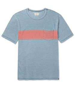 Faherty | Slim-Fit Striped Cotton T-Shirt