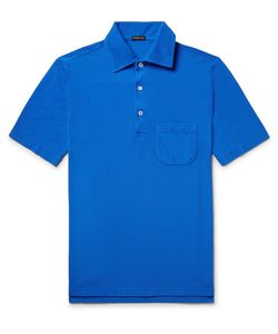 RUBINACCI | Cotton-Piqué Polo Shirt