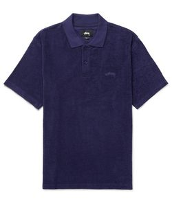 Stüssy | Cotton-Terry Polo Shirt