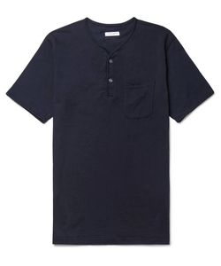 Engineered Garments | Cotton-Jersey Henley T-Shirt