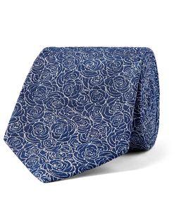 Turnbull & Asser | 8cm Floral Silk-Jacquard Tie