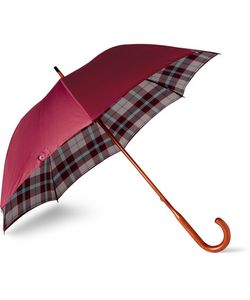 LONDON UNDERCOVER | Maclean Beech Wood-Handle Umbrella