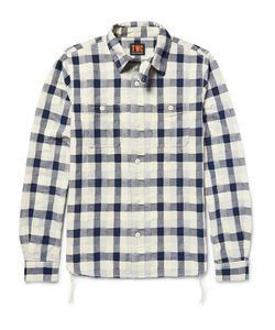 The Workers Club | The Worker Club Woven-Patchwork Cotton Hirt
