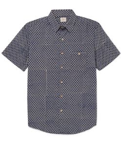 Faherty   Coast Printed Cotton Shirt