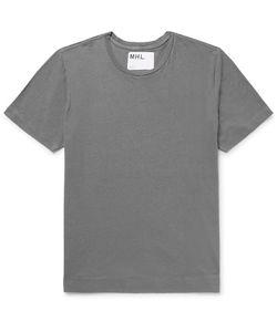 MARGARET HOWELL | Mhl Cotton And Linen-Blend T-Shirt