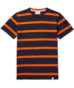 Norse Projects | Niels Striped Cotton-Jersey T-Shirt