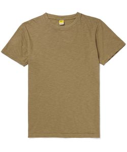 Velva Sheen   Slim-Fit Slub Cotton-Jersey T-Shirt