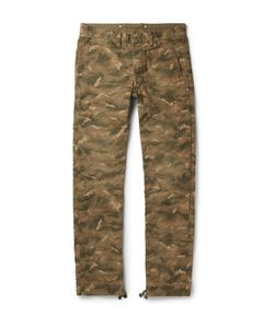 RRL | Dawson Camouflage-Print Cotton-Canvas Trousers