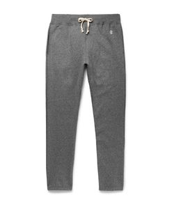 Todd Snyder + Champion | Todd Nyder Champion Fleece-Back Cotton-Blend Jerey Weatpant