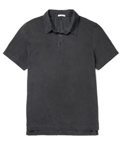James Perse | Slim-Fit Supima Cotton Polo Shirt