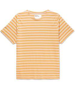 MARGARET HOWELL | Matelot Striped Cotton-Jersey T-Shirt
