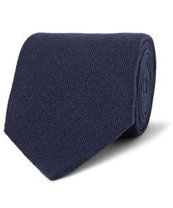 Emma Willis | 9cm Textured-Cashmere Tie