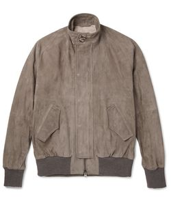 Eidos | Suede Harrington Jacket