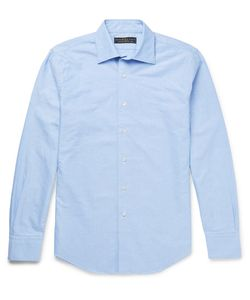 Freemans Sporting Club | Spread-Collar Cotton Shirt