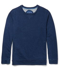 Blue Blue Japan | Bue Bue Japan Oopback Cotton-Jersey Sweatshirt