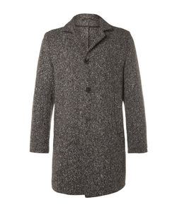 Eidos | Slim-Fit Shay Barleycorn Tweed Coat