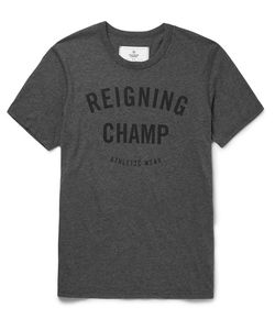 Reigning Champ | Printed Cotton-Jersey T-Shirt