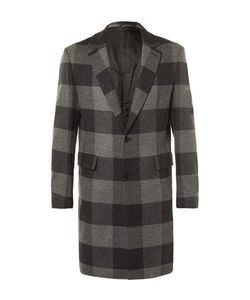 CASELY-HAYFORD | Wentworth Checked Wool Overcoat