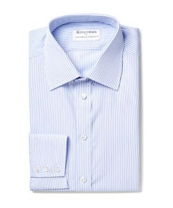 Kingsman | Turnbull Asser Slim-Fit Striped Cotton Shirt