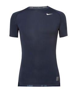 Nike Training   Pro Mesh-Panelled Dri-Fit T-Shirt