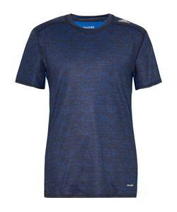 Adidas Sport   Techfit Mesh-Panelled Mélange Climalite T-Shirt