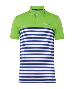 RLX Ralph Lauren | Striped Stretch-Piqué Polo Shirt