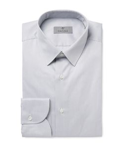 Canali | Slim-Fit Striped Cotton Shirt