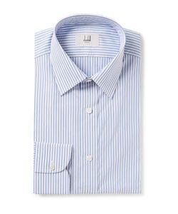 Dunhill | Slim-Fit Striped Cotton-Poplin Shirt