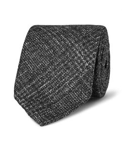 Thom Sweeney | 8cm Checked Wool Silk And Cashmere-Blend Tie