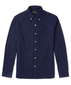 Beams Plus | Beam Plu Lim-Fit Button-Down Collar Bruhed-Cotton Flannel Hirt